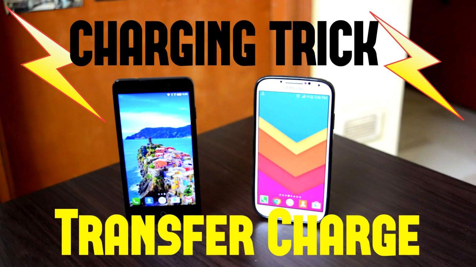 চার্জ Transfer করুন Android টু Android.
