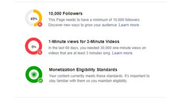 জেনে নিন Facebook Video Monetization এর যোগ্যতাসমূহ – Facebook for Creators