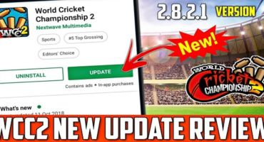 World Cricket Championship 2  Latest (MOD) 2.8.2.1 [UPDATED VIP] ডাউনলোড করুন।