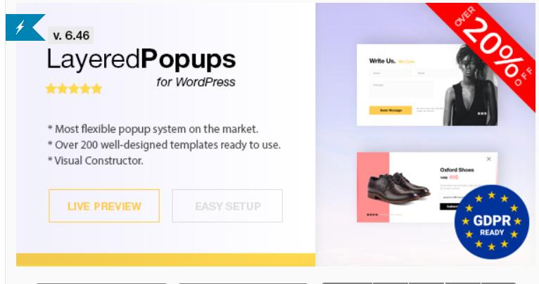 WordPress সাইটে Layered Popup দিন Popup Plugin Premium দিয়ে