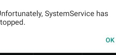 Unfortunately, System service Stopped সমাধান করুন |
