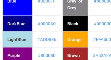 যত রকম  Color code লাগে নিয়ে নিন  Trickbd এর পোষ্টকে আরও রঙিন ও সুন্দর করে তুলুন