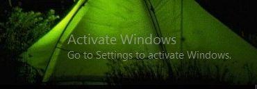 Windows 10 এর Activate Windows লেখাটি রিমুভ করুন Product key ছাড়া ।
