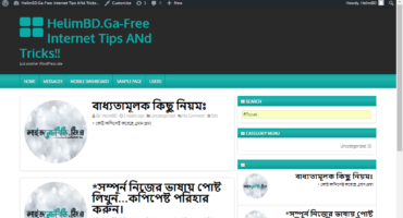 নিয়ে নিন LiveNetBD এর Old Pc ভার্সন Wp Thems.