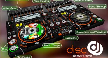 [DiscDj 3D Music Player] এই Music  Player সবাই আপনার ফোনের দিকে হা করে তাকিয়ে খাকবে (কেউ মিস করবেন না মিস করলে লস)