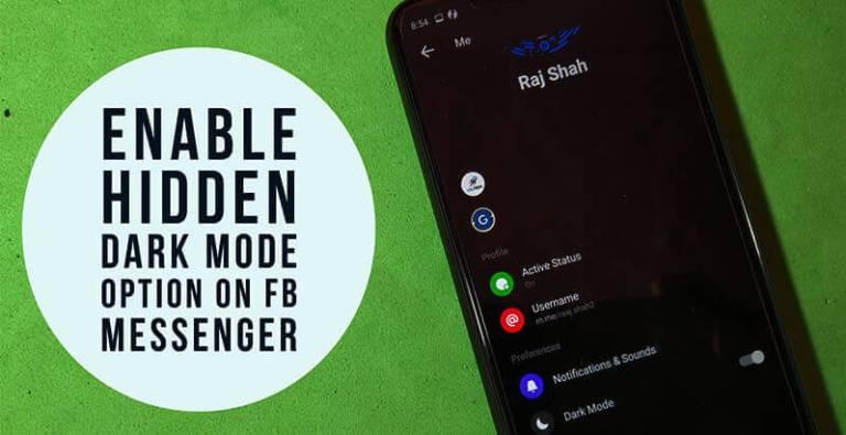 [New]Hide থাকা Facebook Messenger এর Dark Theme Mode Enable করবেন যেভাবে(বিস্তারিত পোস্টে)