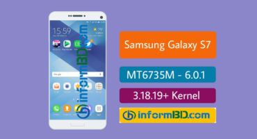 Samsung Galaxy S7 Custom Rom For [MT6735M][6.0][32BIT] 3.18.19+ Kernel
