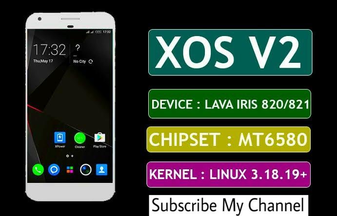 [Mtk 6580] Xos V2 Custom Rom For Lava iris 821 PhoneLava Iris Custom Rom