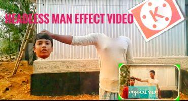 Headless man effect,মাথা কেটে হাতে নিয়ে ভিডিও বানান কাইনমাস্টার দিয়ে।kinemaster editing