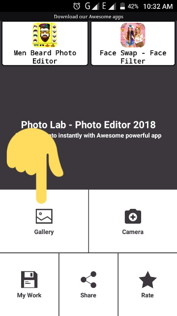 দেখে নিন Photo Lab- Photo Editor2018 আশা করি  ভালো লাগবে ।