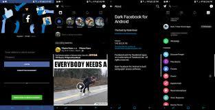 Messenger এর মত নিয়ে নিয়ে নিন Facebook Main official app Dark Mode
