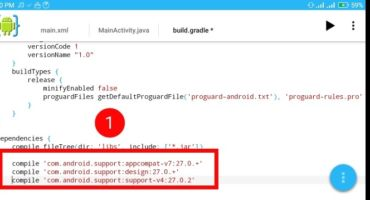 [AIDE-3] :: Android IDE এরমাধ্যমেঅ্যান্ড্রয়েড অ্যাপ তৈরি শিখুুন ||কাস্টম টুলবার লেয়াউট সেট টিউটোরিয়াল||