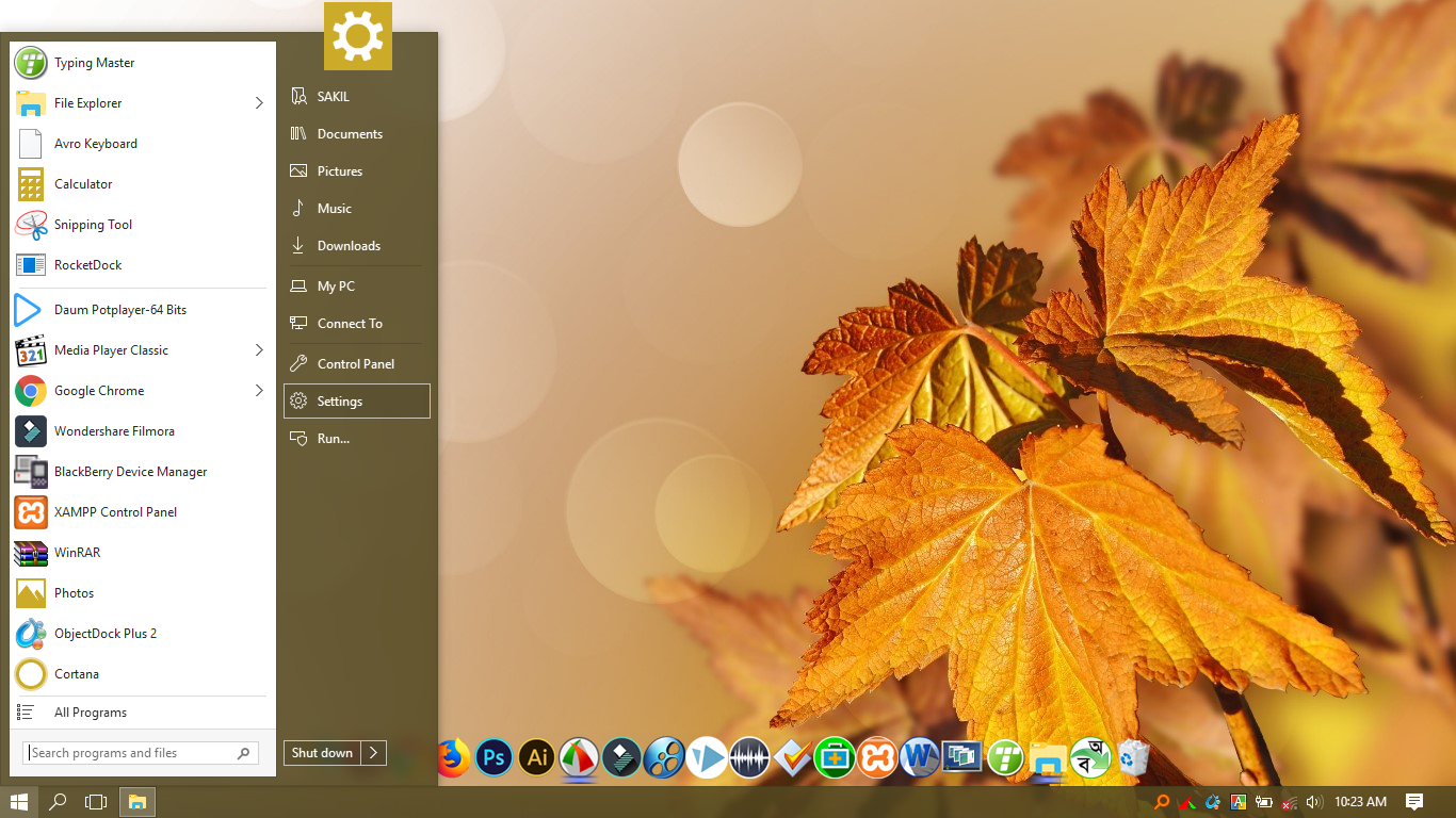 StartIsBack- windows এ ব্যবহার করুন অন্যান্য ভার্সনের Start Screen