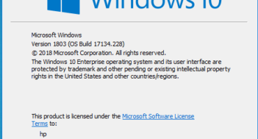 Windows 10 V_1803(OS Build 17134.228) এর freezing problem solve.