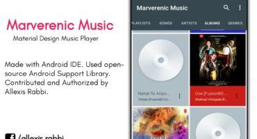 [AIDE-5] :: Android IDE এর মাধ্যমে অ্যাপ তৈরি || Material Design এর জনপ্রিয় Marverenic Music এর মতো Same অ্যাপ তৈরি করুন||