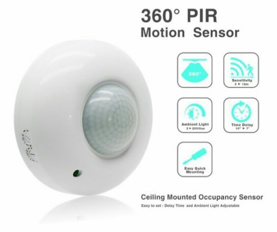AUTOMATIC INFRARED PIR MOTION SENSOR SWITCH BANGLA REVIEW