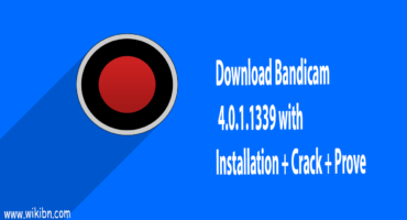 ডাউনলোড করে নিন Bandicam 4.0.1339 With Installation + Crack [Best Screen Recoder for Computer]