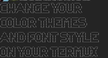[আহো ভাতিজা পর্ব-৫]💥আপনার Termux এপসকে অসাধারণ লুক দিন 💥। ইন্সটল করুন color Themes এবং ফন্ট সাথে সেটআপ করুন।