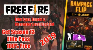 [Free Fire] Season 13 Elite Pass, Emote এবং Character Level Up Card নিয়ে নিন ১০০% ফ্রিতে