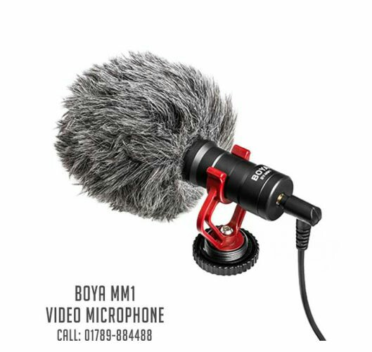 BOYA BY-MM1 MICROPHONE FOR SMARTPHONE, PC AND DSLR | Best Microphone For Smartphone, PC, DSLR
