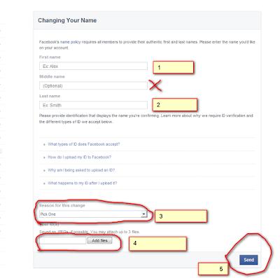 [HOT] কিভাবে ৬০ দিন আগেই Facebook এর নাম পরিবর্তন করবেন !