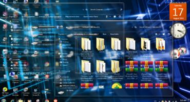 আপনার Windows কম্পিউটার কে দিন সেই মানের ঝাক্কাস Transparent Look আর হয়ে যান Stylish Theme এর Boss