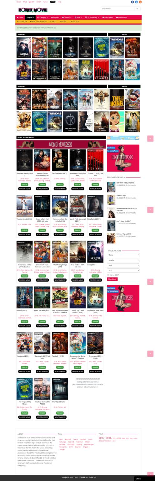 [NEW] Zorex-Movie Blogger Premium Template !