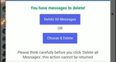 ফেসবুকের সকল মেসেজ এক ক্লিকে ডিলিট করুন। Delete all facebook messages in one click with Android and pc.