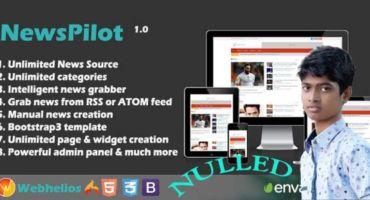 [Nulled] NewsPilot – Autopilot News Script 2019 Download Free!