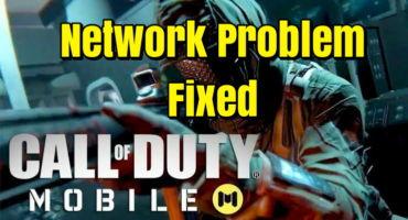 Call Of Duty Mobile – গেমস এর নেটওয়ার্ক সমস্যার সমাধান