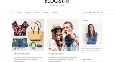 Blogstar Responsive Premium Blogger Template Free Download [Footer Credit Removal]