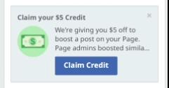 $5 ফেসবুকের কুপন ফ্রি নিন Unlimited | এখনি নিয়ে নিন