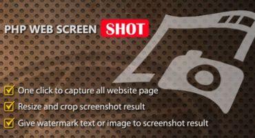 এবার নিজেই তৈরি করুন Online Web ScreenShot Capture ওয়েবসাইট ।