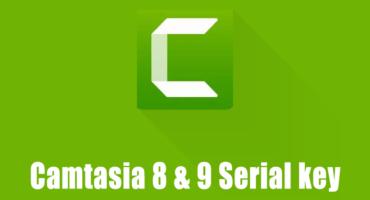 [Limited] ফ্রিতে নিয়ে ৫০ টি Camtasia 8 এবং 9 এর Serial key
