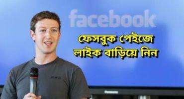ফেসবুক পেইজের লাইক বাড়াবেন যেভাবে – Promote/Boost Facebook Page