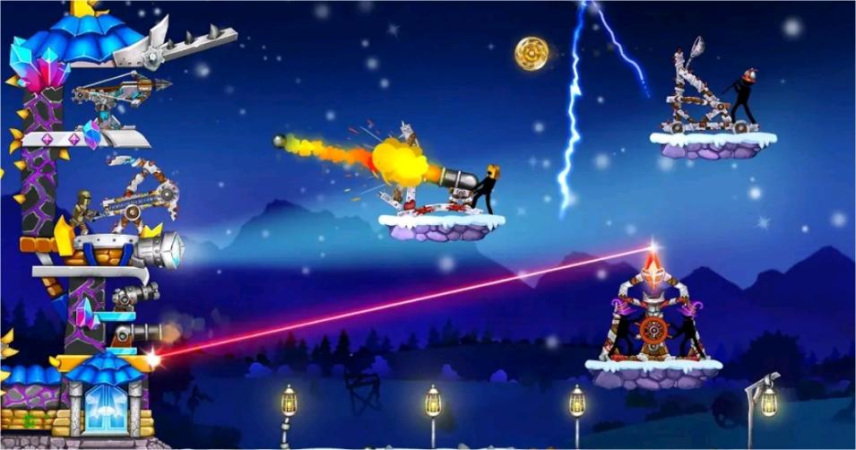 [The Catapult 2] Angry Birds এর দিন শেষ এবার খেলুন আপনার ফোনে অন্য আরেকটি জনপ্রিয় গেইম।[93MB]