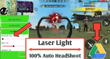 [FREE FIRE] FREE FIRE NEW HACKED MOD APK | ENEMY DETECTOR BY LASER LIGHT | ID BANNED PROBLEM SOLVED | 100% AUTO HEADSHOOT | WITH LIVE PROOF.(App Expired)