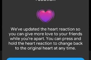 আসুন Messenger-এর Message Reaction এর Love Emoji Update করে নিই…
