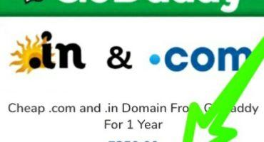 ডট Com ডোমেইন  মাত্র ৩০০ টাকায় ৷ সাথে থাকছে Godady ফুল কট্রল cPanal ,১বছর মেয়াদে