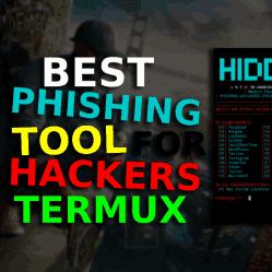 Advanced Phishing Tool for Termux   যেকোনো ওয়েবসাইটের ফিসিং সাইট বানিয়ে নিন