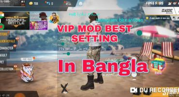 VIP MOD MENU SETUB IN BANGLA FREE FIRE /BELLARA / AUTO HEADSHOT/ AIMBOT / LOCATION LASER LITE / ESP BOX HACK MORE