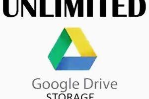 নিয়ে নিন Google Drive Unlimited Storage