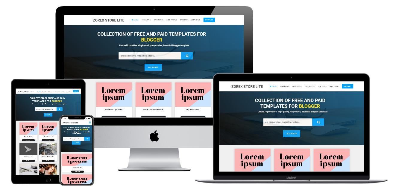 [🔥হট অফার] ডাউনলোড করে নিন যরেক্স যিরা এর Zorex Store Lite Blogger Premium template একদম ফ্রিতে!