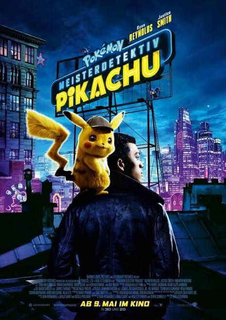Pokémon Detective Pikachu – অস্থির থ্রিডি একটা মুভি   হিন্দি ডাবড, ৩০০ এম্বি + আমার রিভিউ  