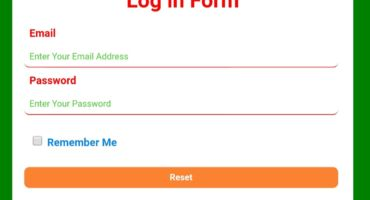 HTML CSS দিয়ে তৈরি করে নিন একটি Log in Page …