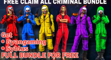 Get Free100% All Criminal Bundle In FreeFire   How To Get Free Criminal Bundle In FreeFire New Trick