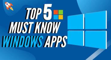 ৫টি সেরা Windows software |  ছোট অ্যাপ কিন্তু কাজ অনেক বড়।
