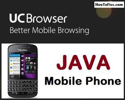 জাভার জন্যা নিয়ে নিন সর্বকালের সেরা Uc Web with unlimited Ss and download speed