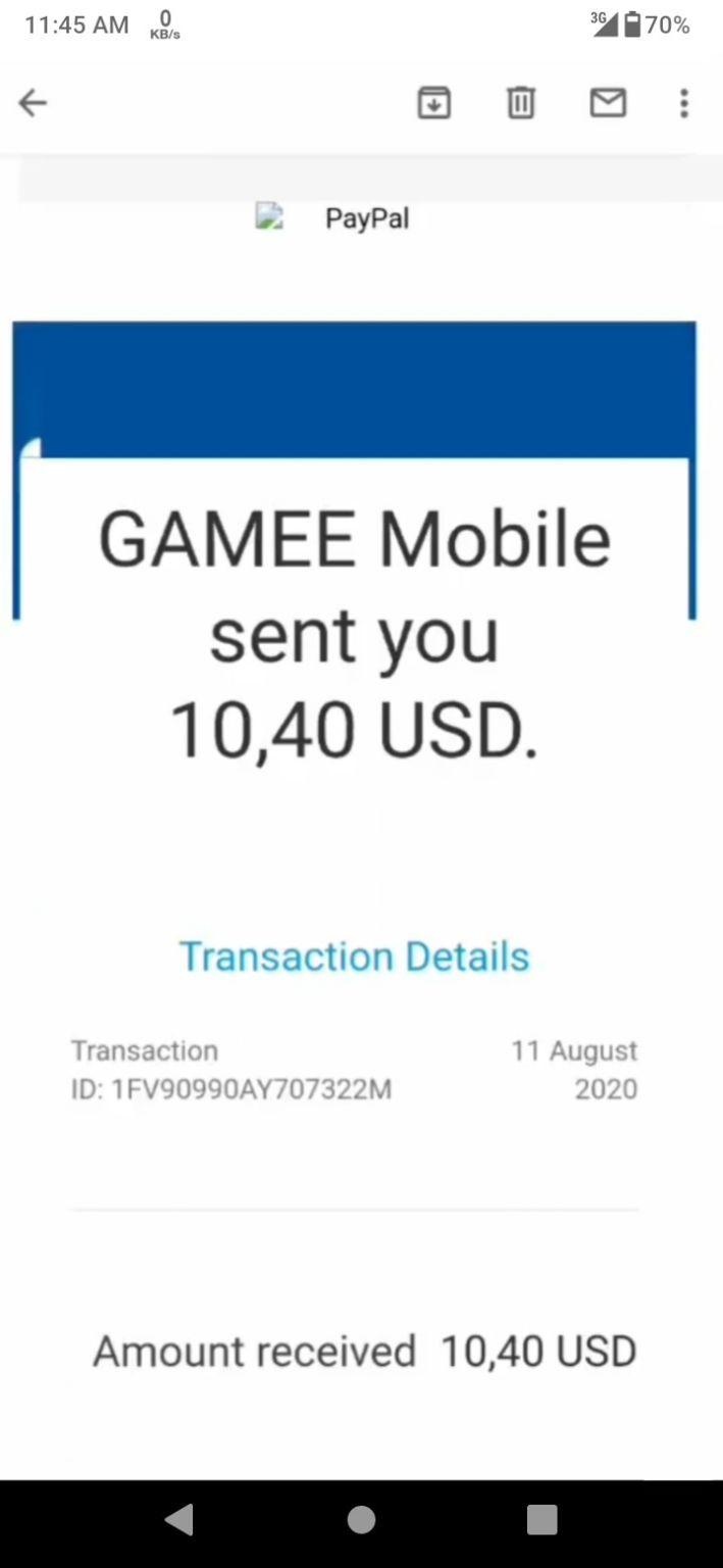 Gamee অ্যাপ থেকে প্রতিদিন 100 টাকা ইনকাম করুন | জয়েন করলেই $0.10 ডলার বোনাস এবং প্রতি রেফারে পাবেন $0.10 ডলার [$10 Payment Proof]