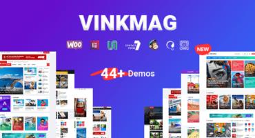 [Download Free] Vinkmag – Multi-concept News Magazine WordPress Theme V2.8 [GPL License]